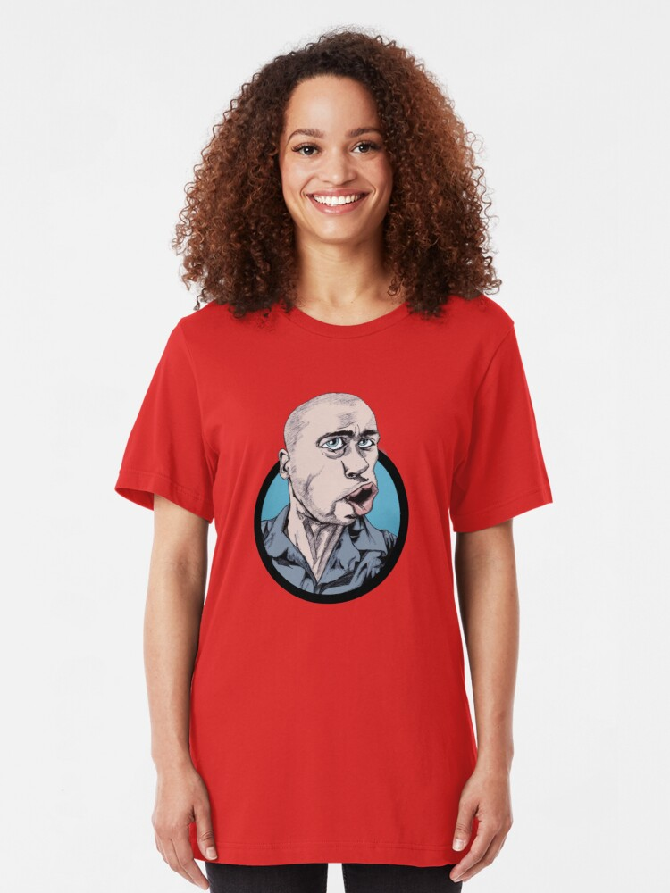Alternate view of Andy Mitchell Waggleface Slim Fit T-Shirt