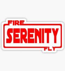 Firefly wars Sticker
