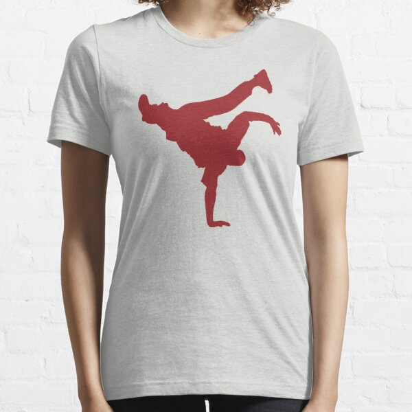 BBOY pose red Essential T-Shirt