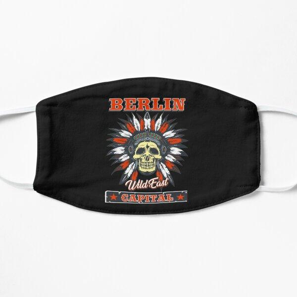 Berlin das Wild East Design mit dem Totenkopf Indianer Flache Maske