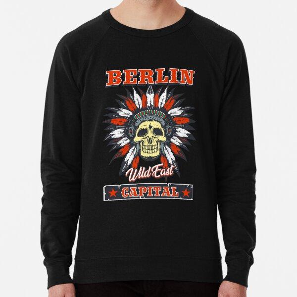 Berlin das Wild East Design mit dem Totenkopf Indianer Leichter Pullover