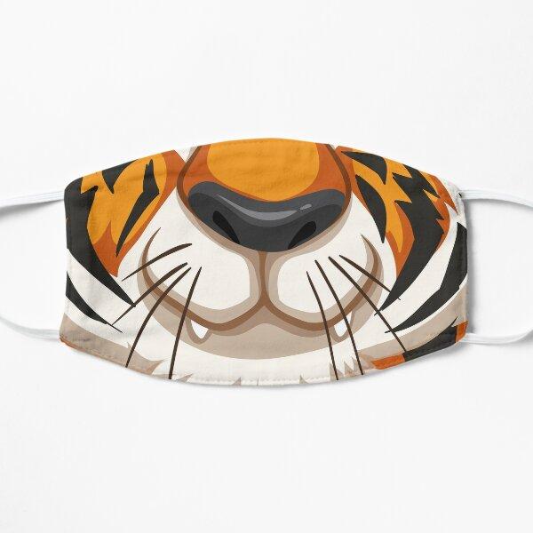 Illustration de tigre, look cartoon coloré Masque sans plis