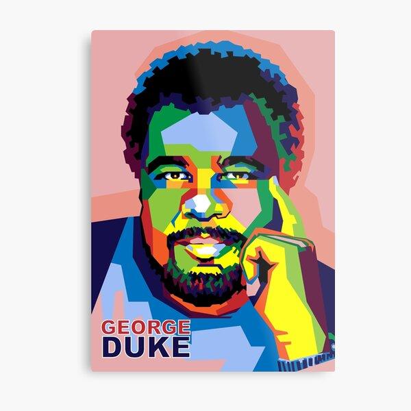 George Duke on WPAP Metal Print
