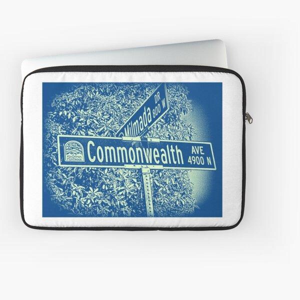 Commonwealth Avenue, La Cañada Flintridge, CA by Mistah Wilson Laptop Sleeve