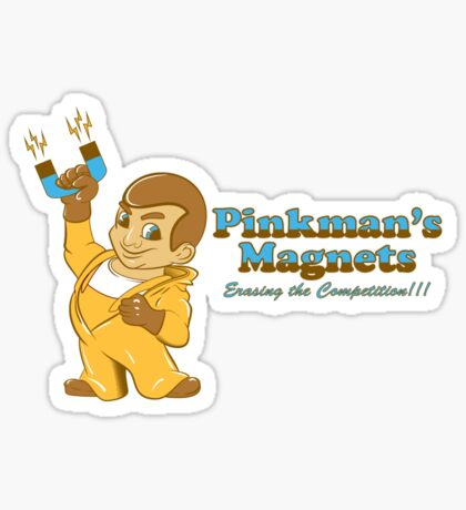 Pinkmans Magnets Sticker