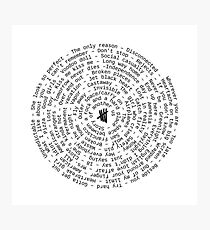 ** UPDATED 5sos spiral ** Photographic Print