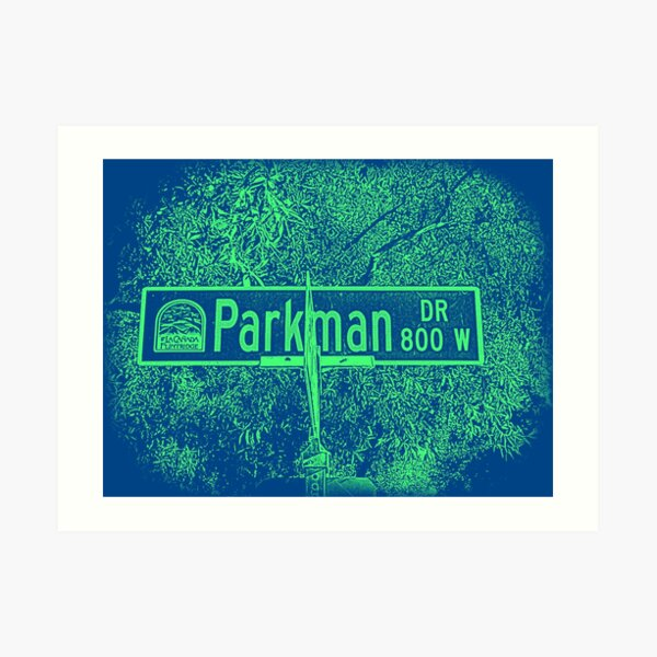 Parkman Drive, La Cañada Flintridge, CA by Mistah Wilson Art Print