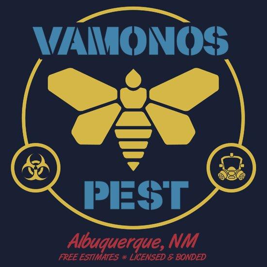 TShirtGifter presents: Vamonos Pest Control   Unisex T-Shirt