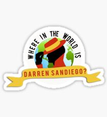 Where In The World... Sticker