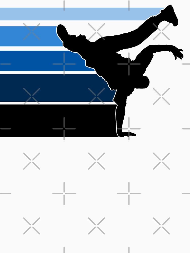 BBOY lines Blu/blk by styleuniversal