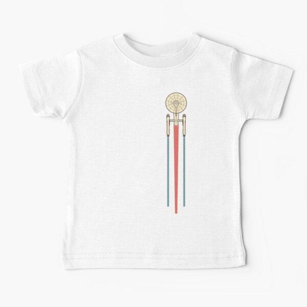 USS Enterprise Star Trek Baby T-Shirt