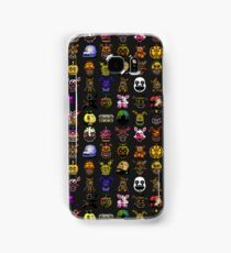 Multiple characters (New set) - Five Nights at Freddy's - Pixel art  Samsung Galaxy Case/Skin