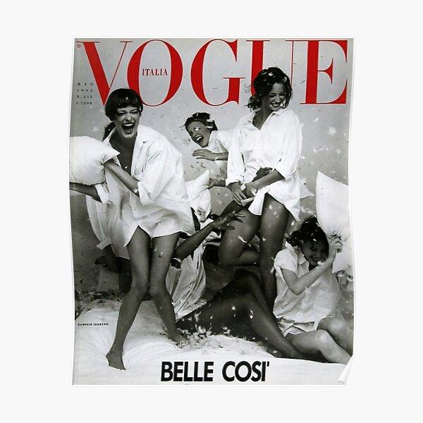 VOGUE : Girl Vintage Poster
