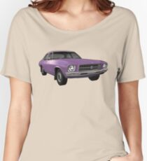 Holden HQ Kingswood - Purple Women's Relaxed Fit T-Shirt