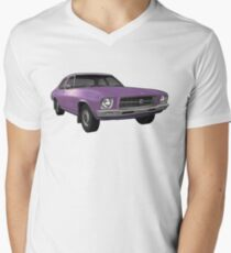 Holden HQ Kingswood - Purple Men's V-Neck T-Shirt