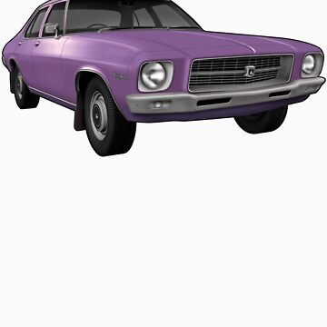 Holden HQ Kingswood - Purple by tshirtgarage