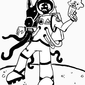 Valdeztronaut by riotface