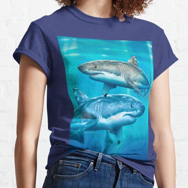 Neptune White Shark Classic T-Shirt