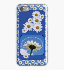 Faith Looks Up ~ Daisies! iPhone Case/Skin