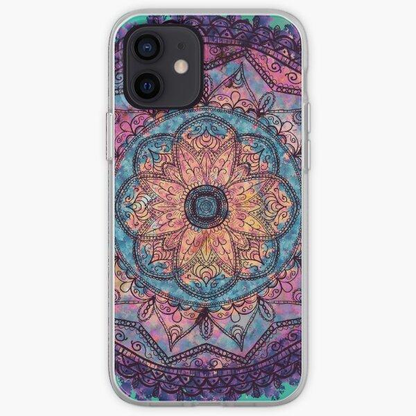 Mandala Mandala Funda blanda para iPhone