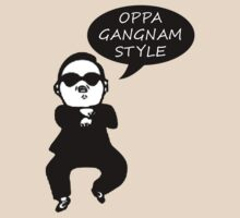 GANGNAM STYLE MAN - with text