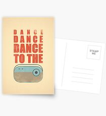Dance To The Radio Postcards
