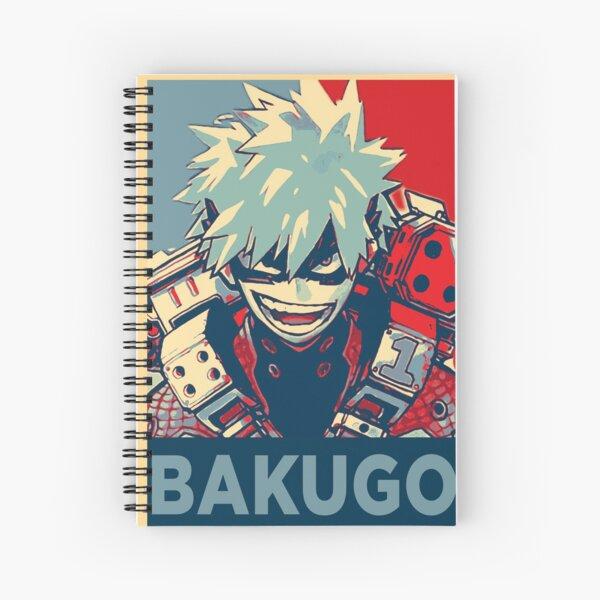 Katsuki Bakugo HOPE Cuaderno de espiral