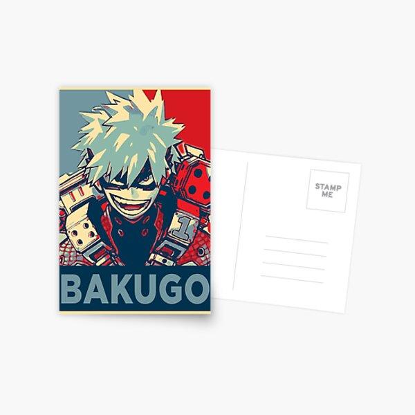 Katsuki Bakugo HOPE Postcard