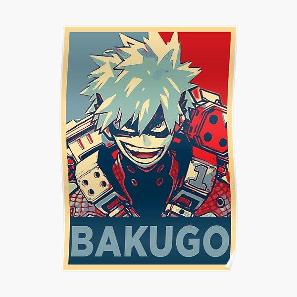 Katsuki Bakugo HOPE Póster