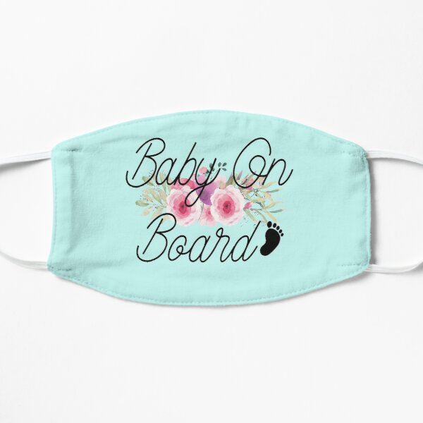 Baby on Board Baby on board Flat Mask