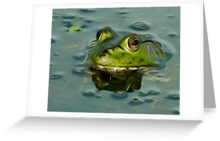 Bullfrog Oil by Paul Wolf