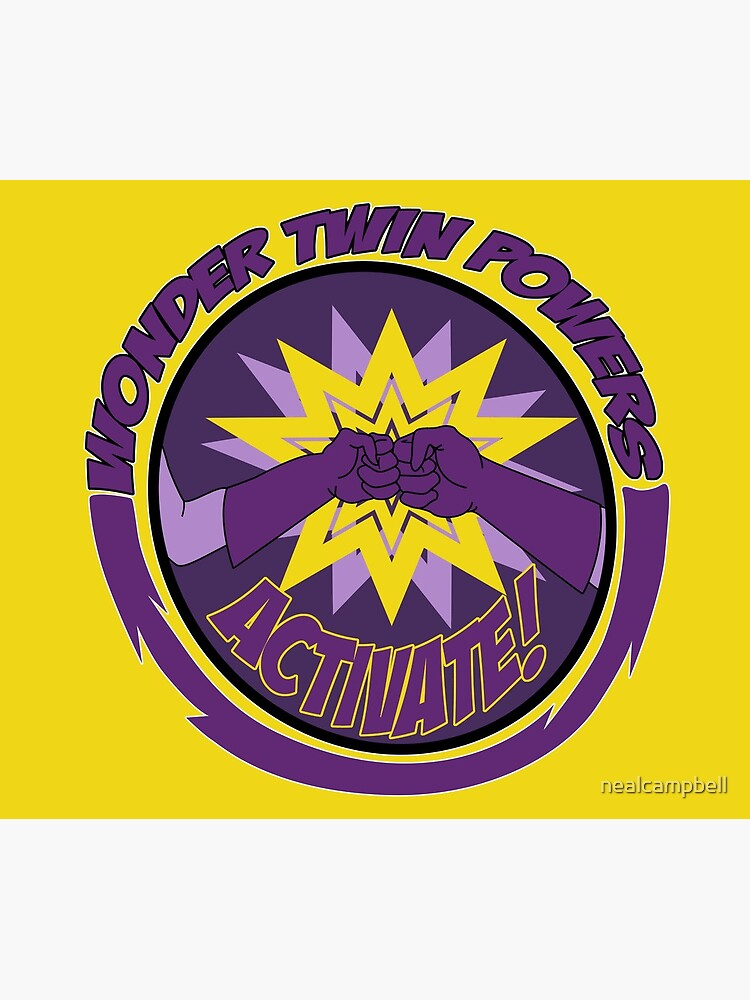 Wonder Twins Power Activate by nealcampbell