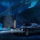 Night Storm - Mustang Fastback, Darlinghurst, Sydney by Mark Richards