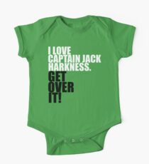 I love Captain Jack Harkness. Get over it! Kids Clothes