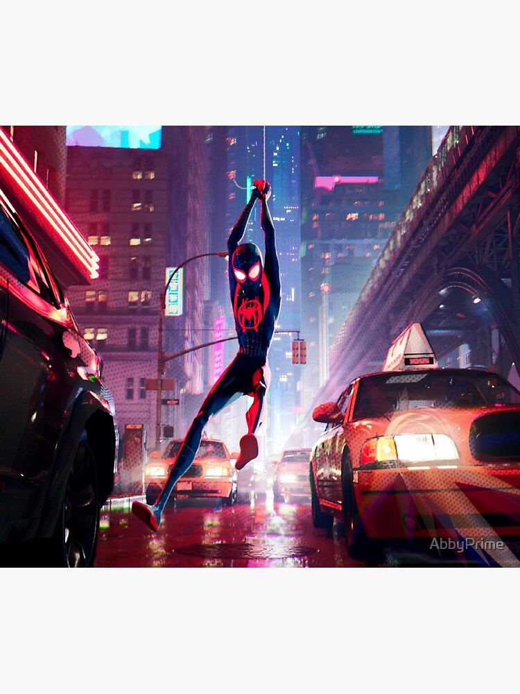 Miles Morales Swinging by AbbyPrime