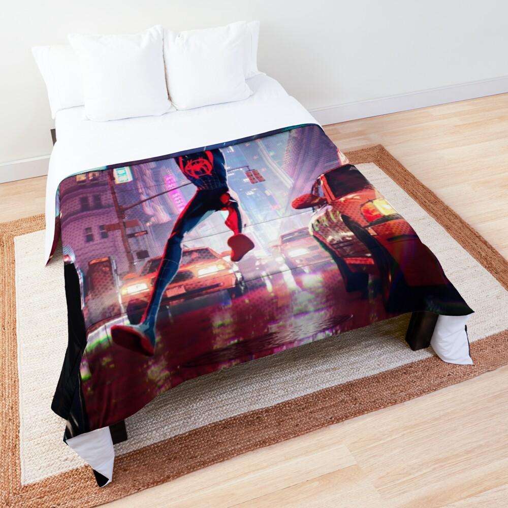 Miles Morales Swinging Comforter