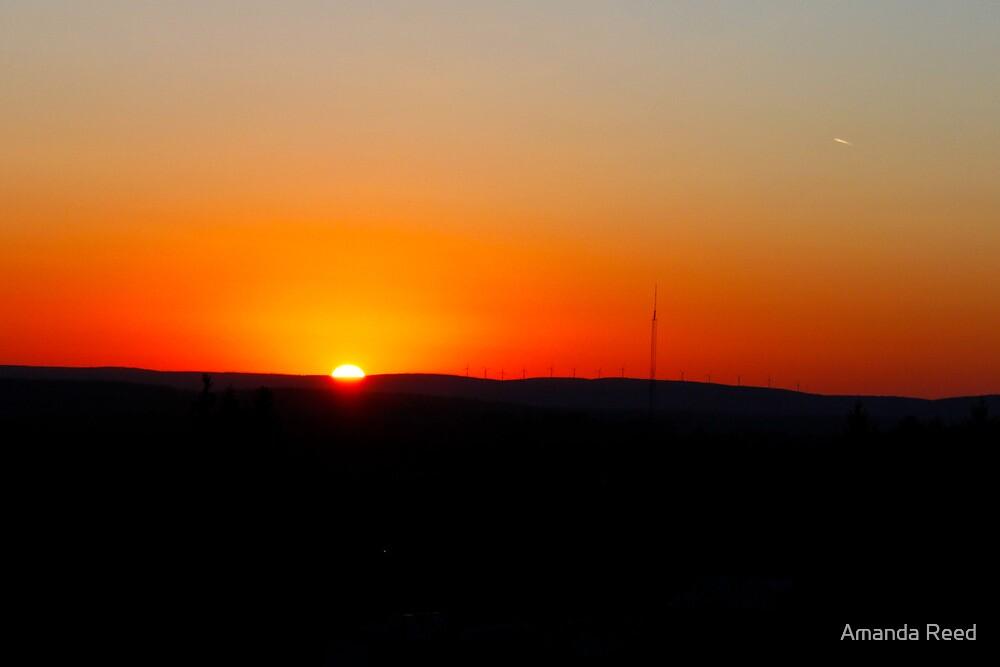 Deep Sunset by amanda reed