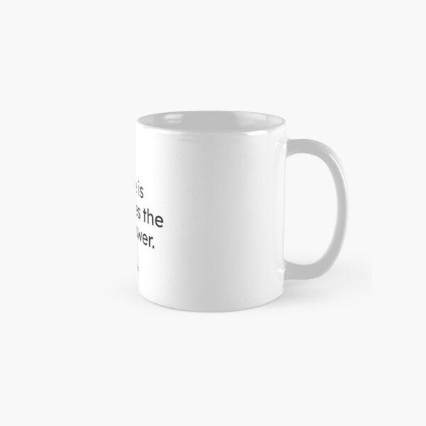 Dalai Lama - Silence is sometimes the best answer. Classic Mug