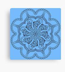 Tentacle Mandala Canvas Print