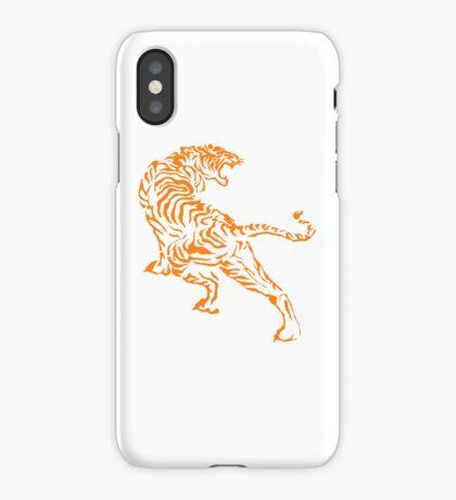 Tiger - Orange iPhone Case/Skin