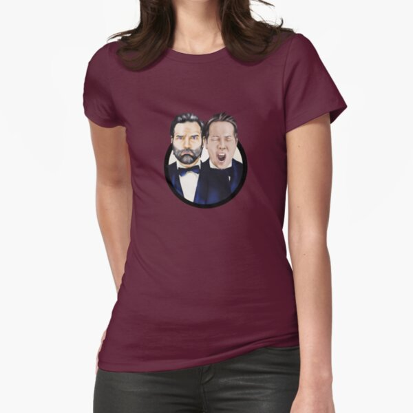 Adam and Joe Fitted T-Shirt
