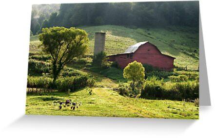Red Barn by Jane Best