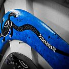Blue Boomerang by Adam Northam