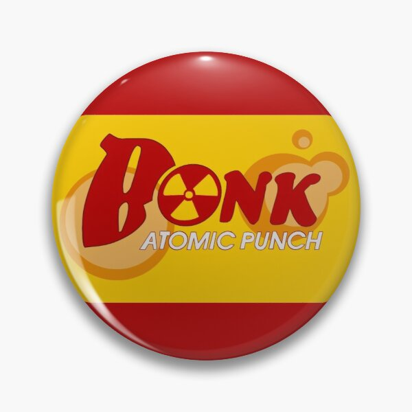 Team Fortress 2 Bonk! Red Pin