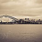 Sydney Harbor 3 by Adam Northam