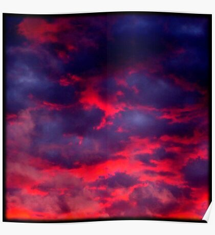Calypso Sunset (available in iphone & ipod cases) Poster