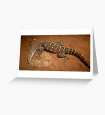 Pick on someone your own size! Greeting Card