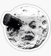 Trip to the Moon Sticker