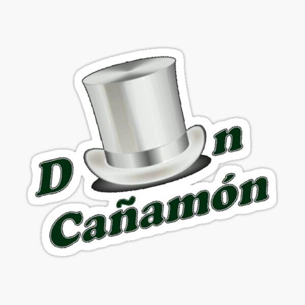 Don Cañamón, tu anfitrión de la fiesta Pegatina
