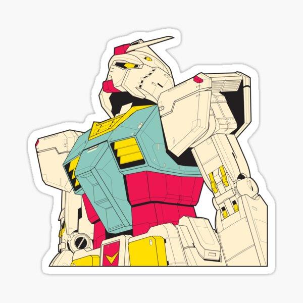 Mobile Suit Gundam Sticker Sticker